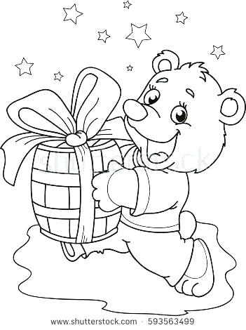 351x470 Paddington Bear Coloring Pages Bear Coloring Pages Little Bear