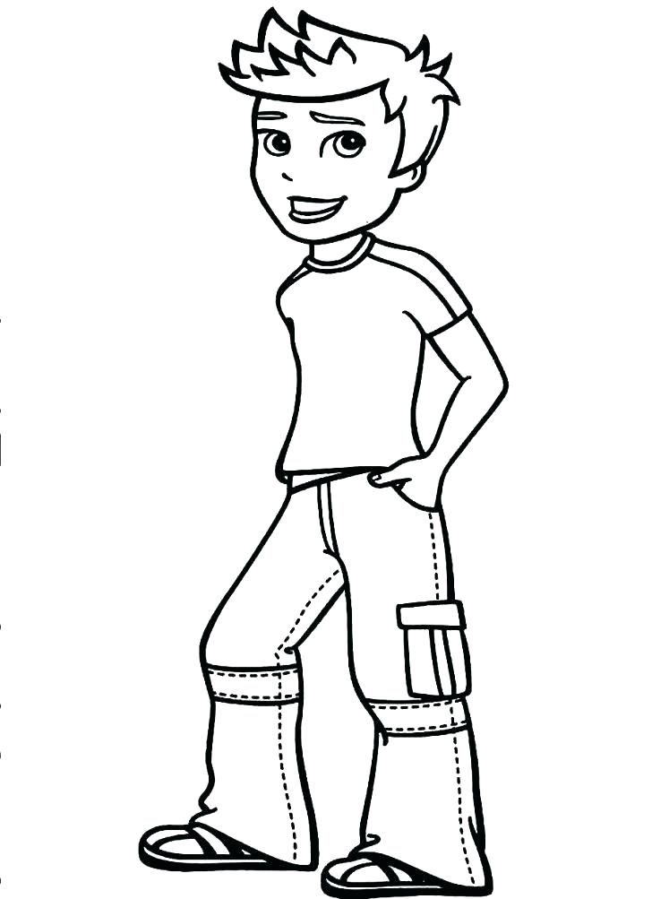 Little Boy And Girl Coloring Pages At Getdrawings Com Free