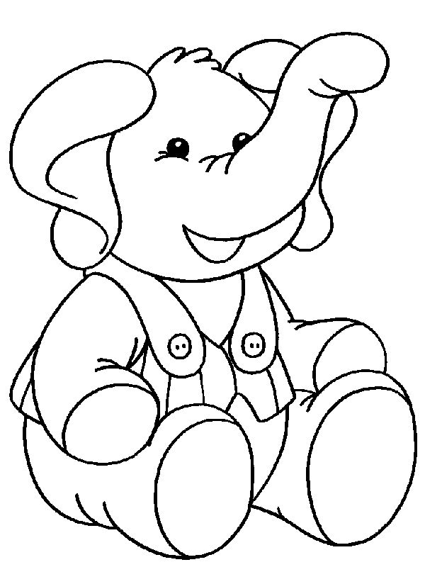 Little Boy Coloring Pages Printable