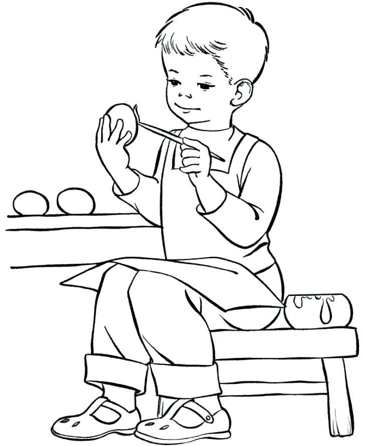 728x891 Printable Boy Coloring Pages Coloring Printable Coloring Printable