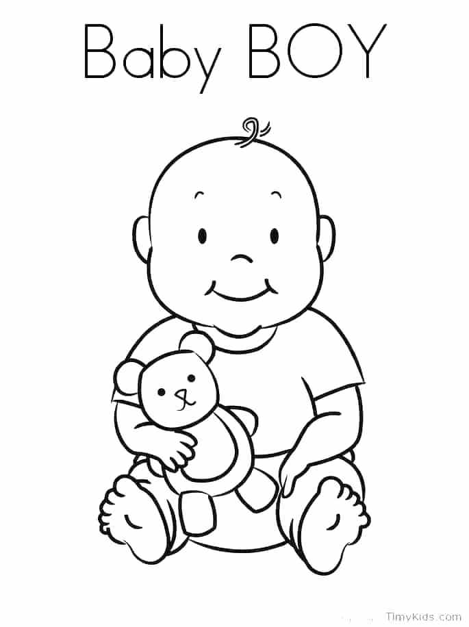 685x916 Boy And Girl Coloring Pages With Boy And Girl Coloring Page Boy
