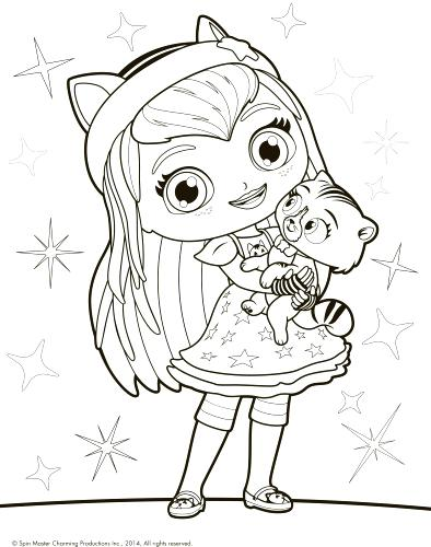 394x500 Little Charmers Coloring Pages Little Charmers Posie Coloring