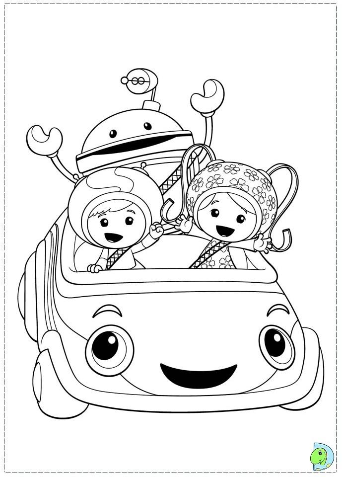 691x960 Team Umizoomi Coloring Book