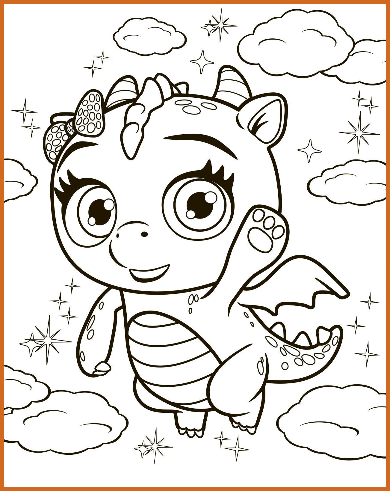 1302x1638 Incredible Little Charmers Coloring Pages Getcoloringpages