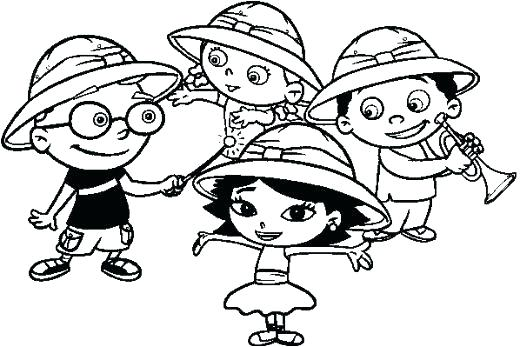 520x347 Little Einsteins Coloring Pages Awesome Little Coloring Pages