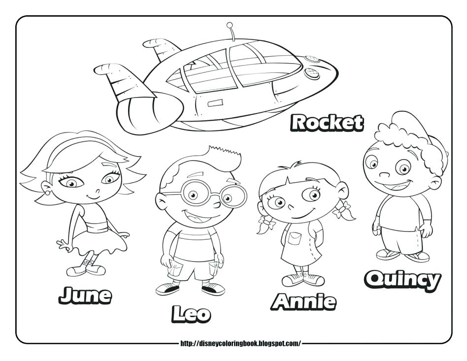 948x733 Little Einsteins Coloring Pages Junior Little Coloring Pages