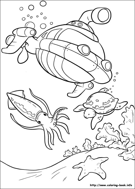 567x794 Little Einsteins Coloring Picture