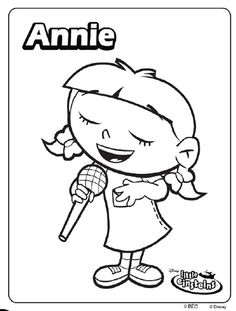 Little Einsteins Coloring Pages At Getdrawings Com Free For