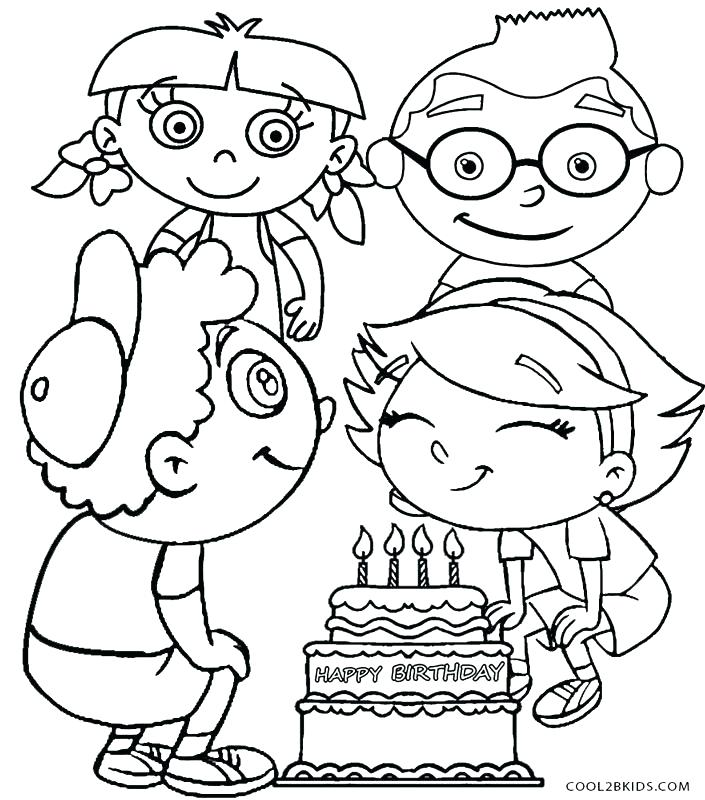 705x800 Little Einsteins Coloring Pages