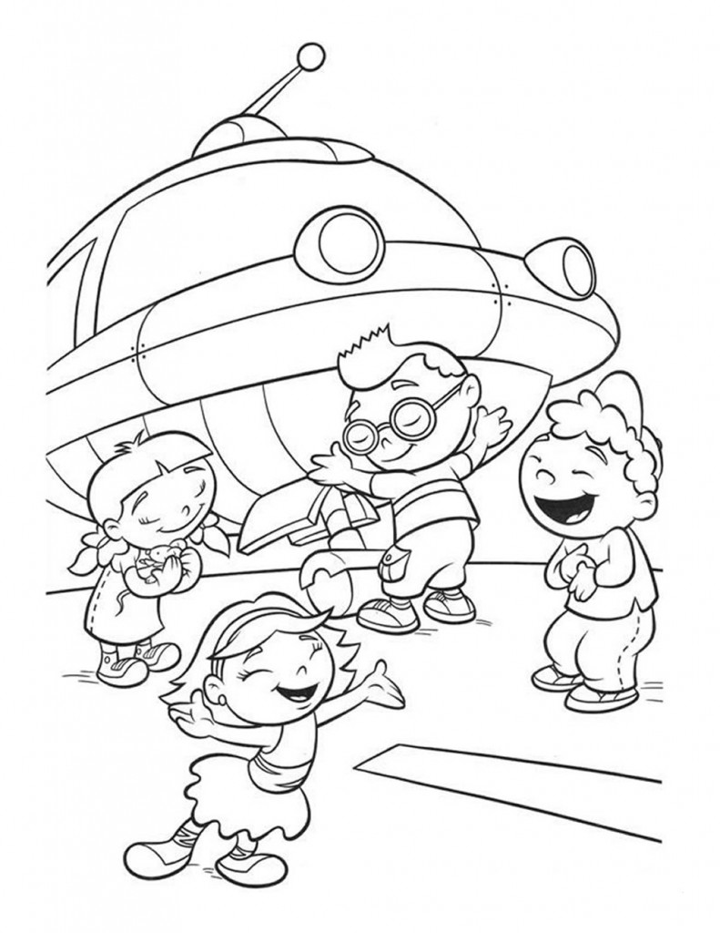 791x1024 Free Printable Little Einsteins Coloring Pages Get Ready To Learn