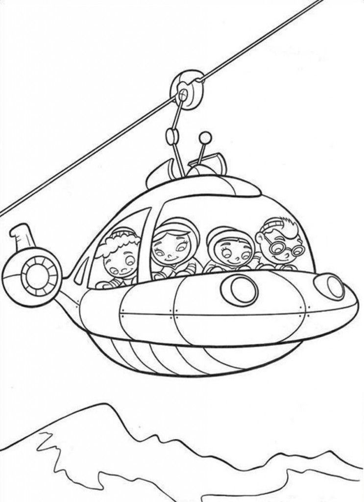 743x1024 Free Printable Little Einsteins Coloring Pages Get Ready To Learn