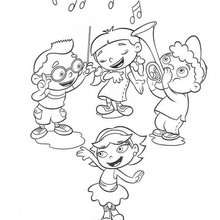 220x220 Little Einsteins Coloring Pages