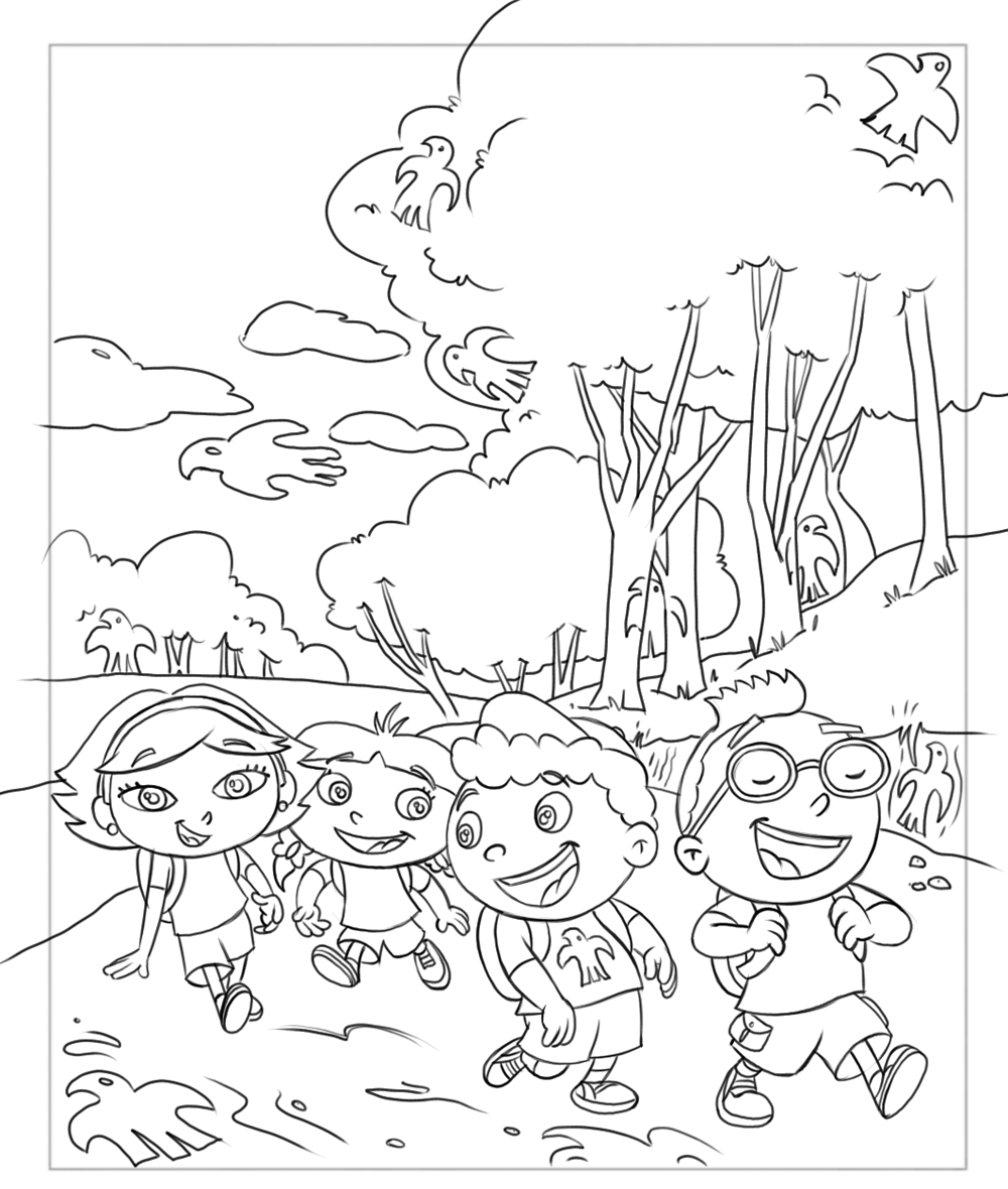 1000x1180 Little Einsteins Coloring Pages