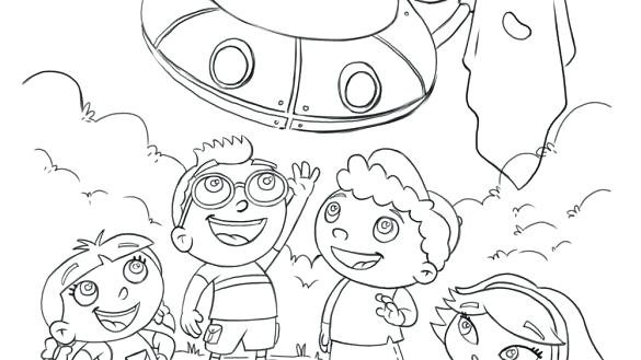 585x329 Little Einsteins Coloring Pages Little Coloring Pages Free