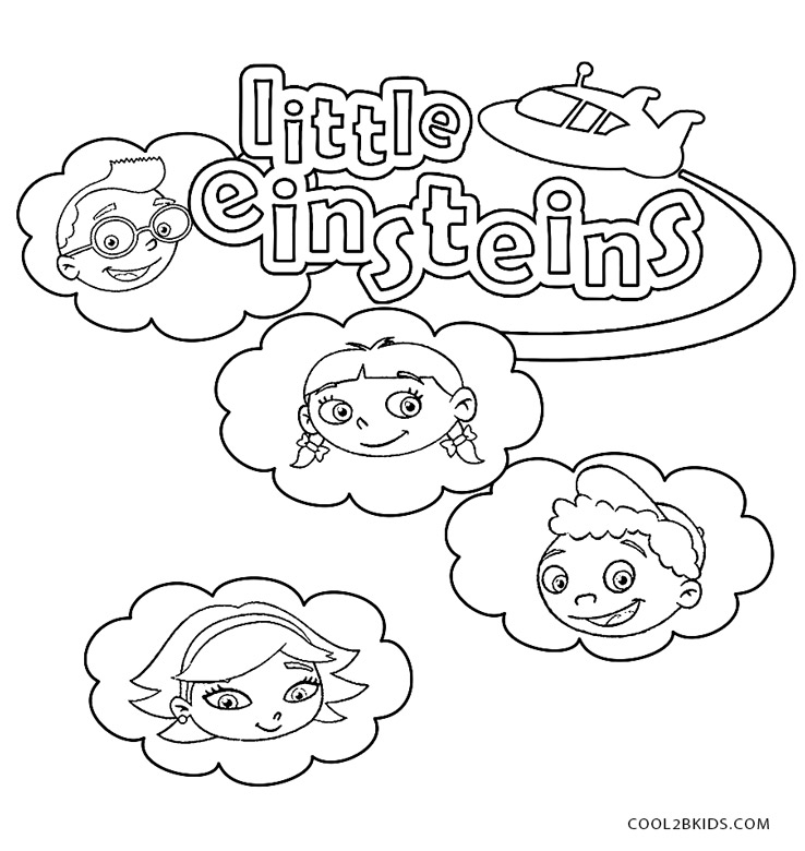 738x780 Printable Little Einsteins Coloring Pages For Kids