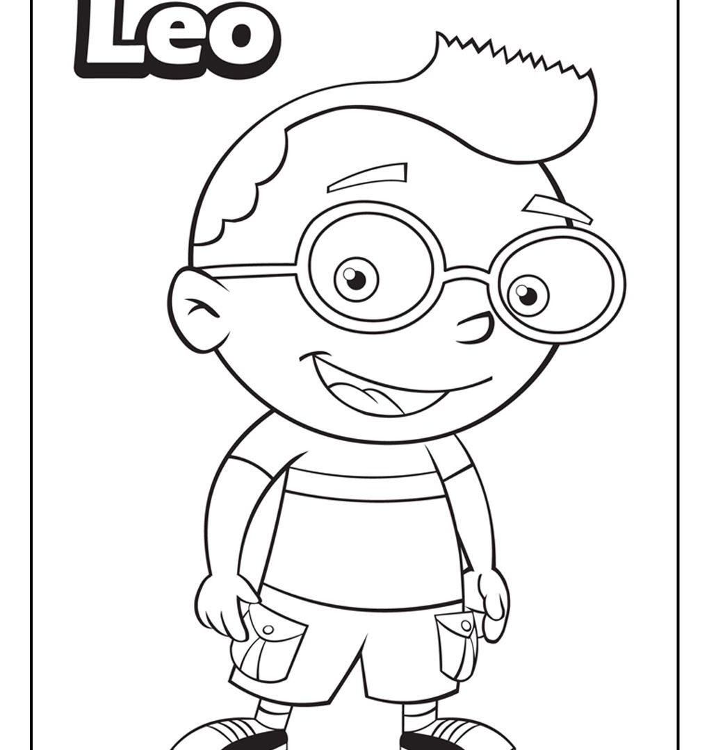 1020x1080 Top Free Printable Little Einsteins Coloring Pages General Color