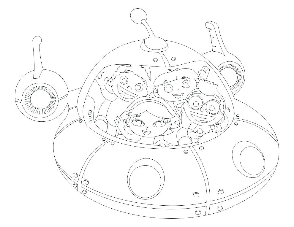 990x765 Little Einsteins Coloring Pages