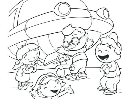 440x330 Disney Junior Little Einsteins Coloring Pages Free Printable Get