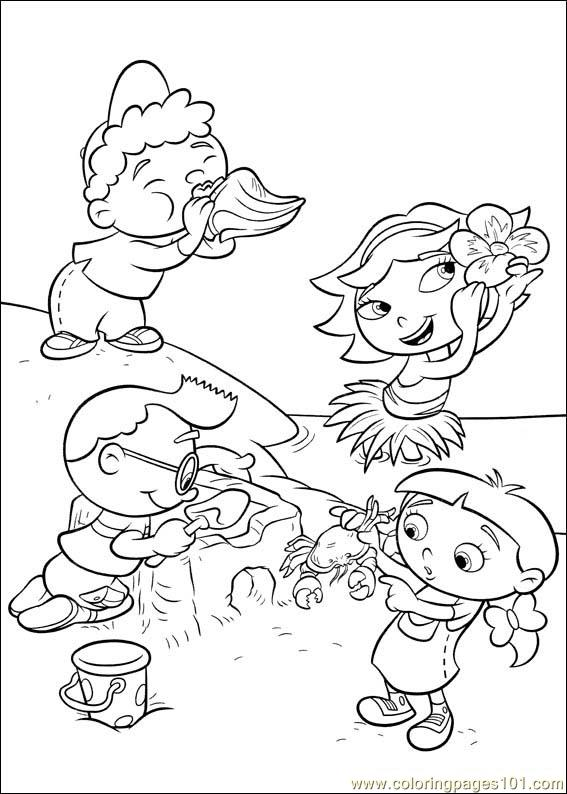 567x794 Little Einsteins Coloring Page
