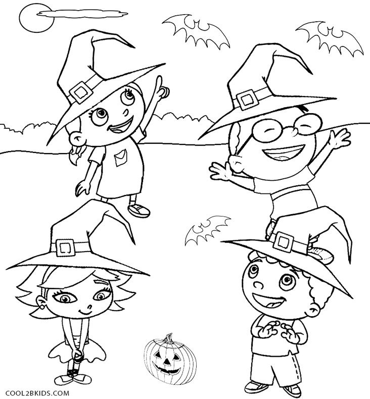732x790 Little Einsteins Coloring Pages