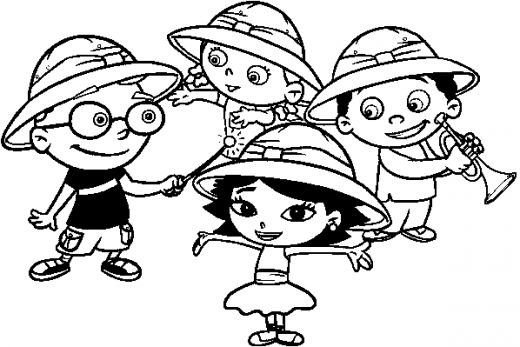 520x347 Little Einsteins Coloring Pages