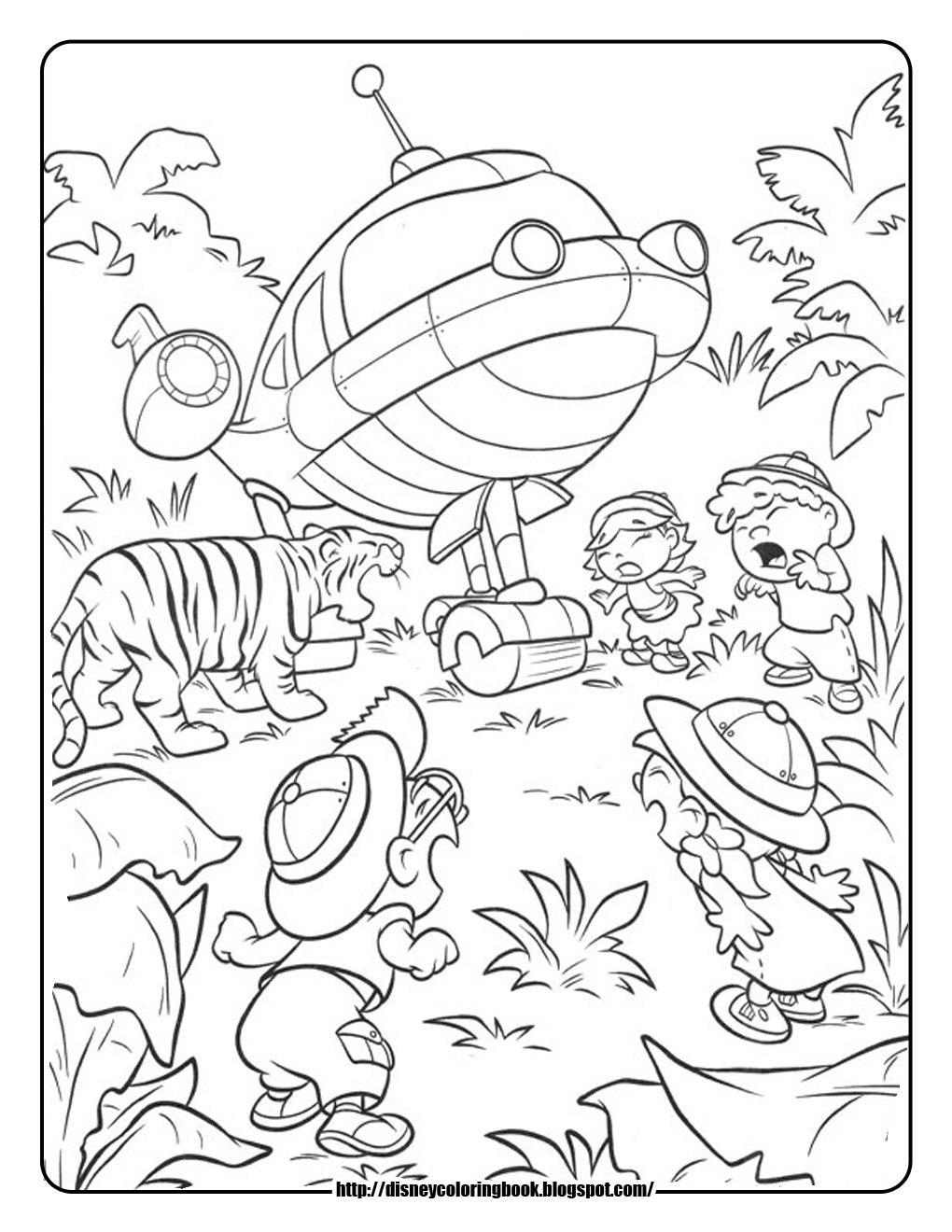 Little einsteins printable coloring pages at getdrawings com free