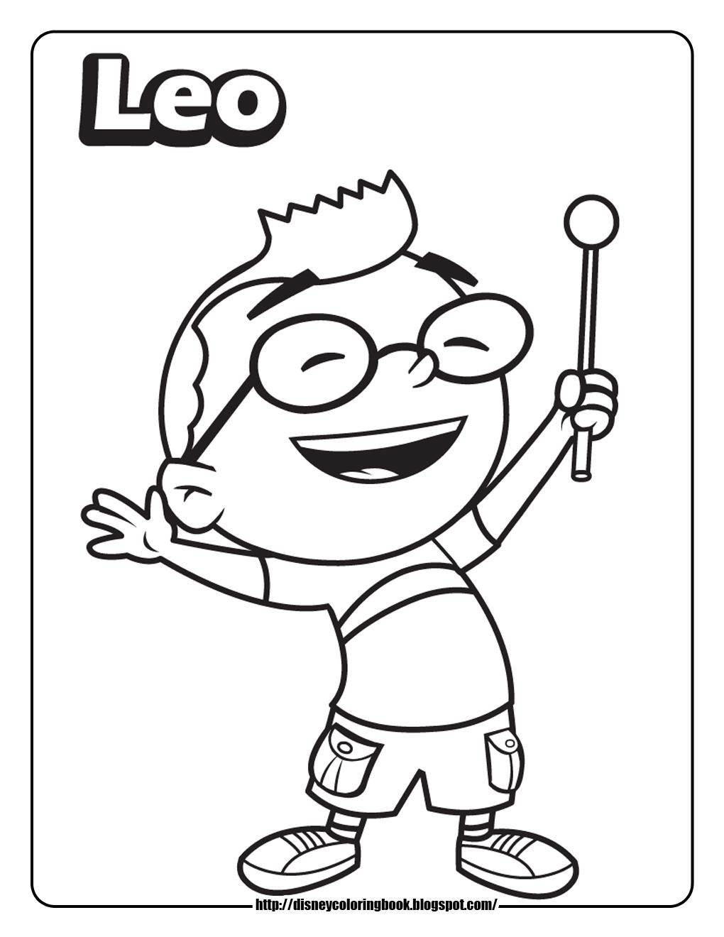 1020x1320 Little Einsteins Leo