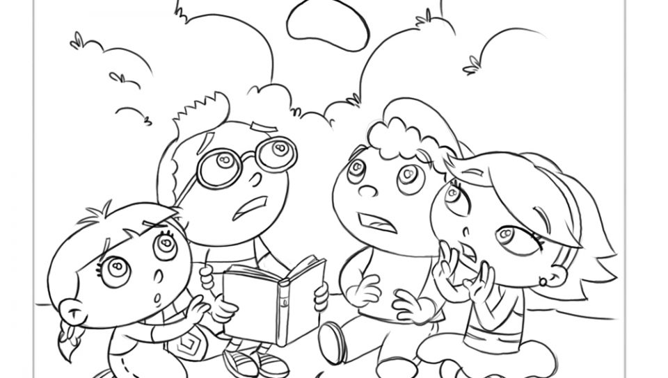 960x544 Disney Coloring Pages And Sheets For Little Einsteins Free General
