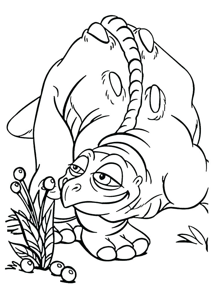 736x1031 Land Before Time Coloring Land Before Time Family Little Foot
