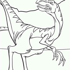 300x300 Land Before Time Family Cera Coloring Page Land Before Time