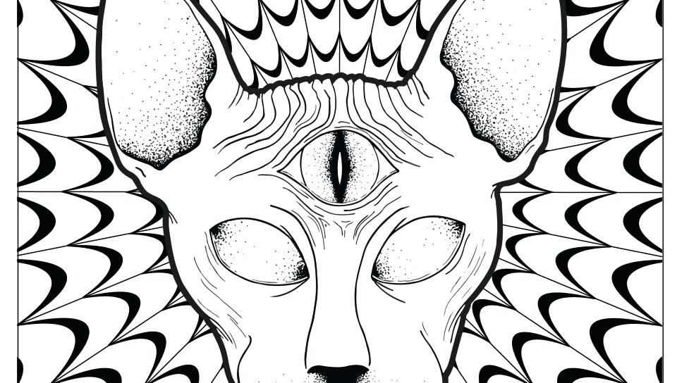 960x544 Marvelous Feet Coloring Pages Black Hole Psychedelic Coloring