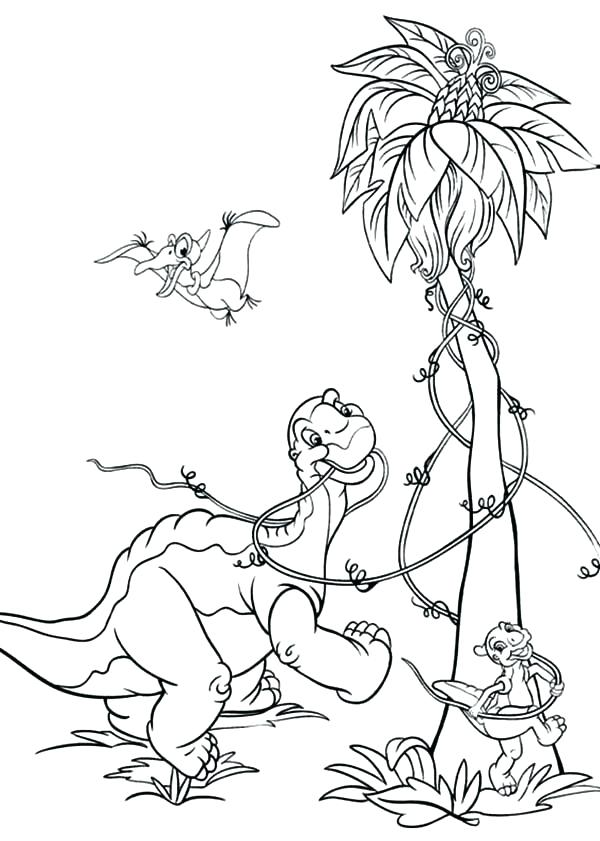 600x841 The Land Before Time Coloring Pages Amazing Land Before Time