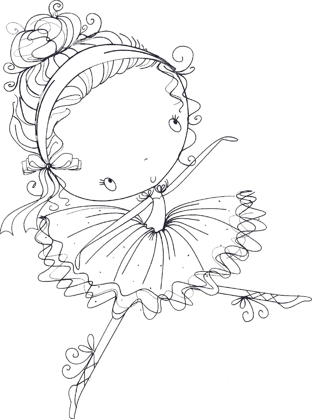 1190x1600 Little Ballerina Embroidery {patterns} Ballerina