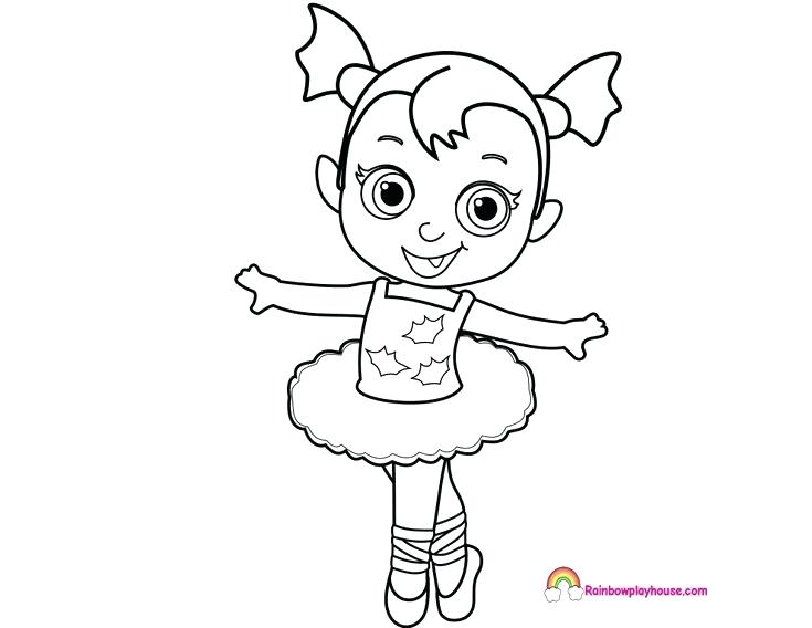 735x568 Ballerina Coloring Pages Baby Nosy Ballerina Coloring Page Rainbow