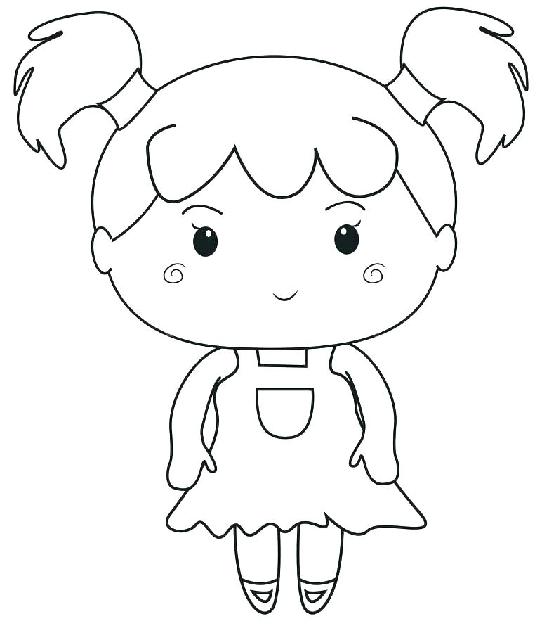 772x900 Grandmother Coloring Pages Little Girl Coloring Pages Info Inside