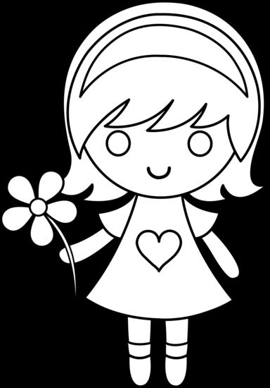 384x550 Little Girl