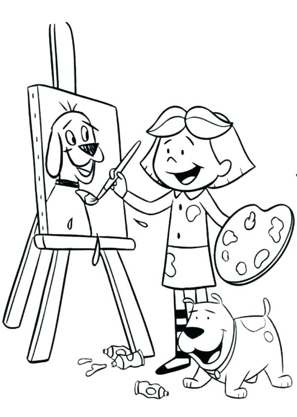 600x842 Coloring Pages For Little Girls Professional