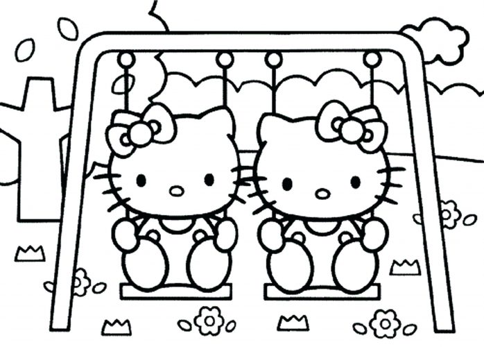 698x500 Coloring Pages Little Girl Coloring Pages For A Scout Printable