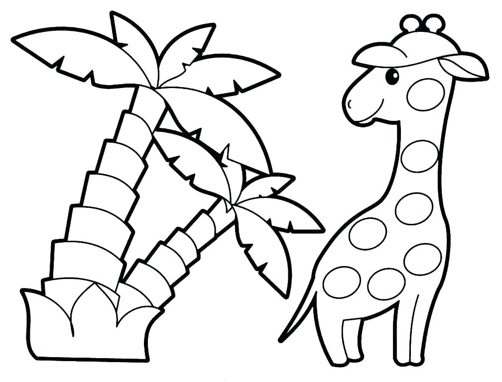 1008x768 Kid Coloring Pages