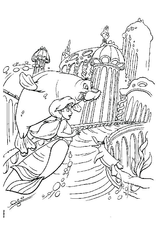 557x785 Little Mermaid Coloring Pages Little Mermaid Color Pages