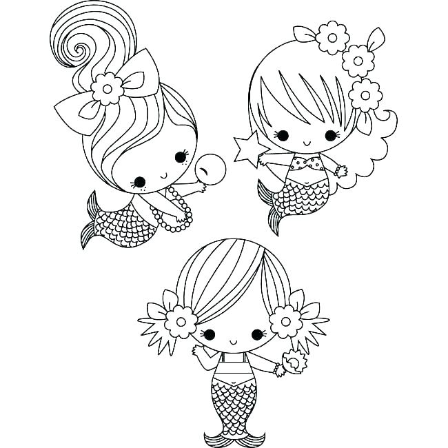 650x650 Mermaid Coloring Pages Free The Little Mermaid Coloring Pages