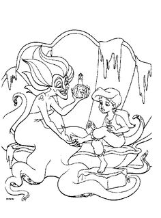 236x319 The Little Mermaid Coloring Pages