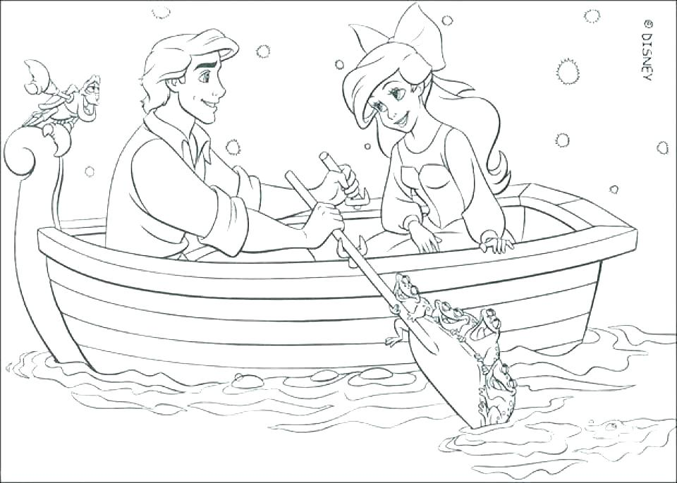 960x685 Mermaid Coloring Pages Online Little Mermaid Coloring Pages