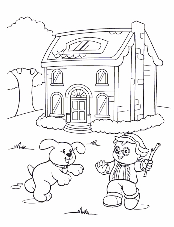 591x773 Kids N Coloring Pages Of Little People