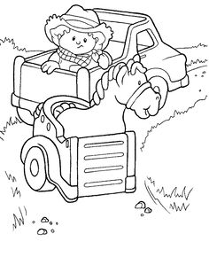 236x299 Little People Coloring Pages Free Printable Coloring Pages