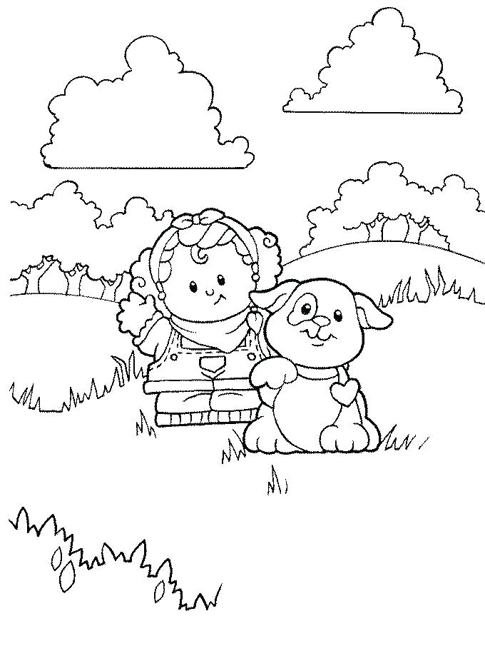 680x912 Little People Coloring Pages Little People Coloring Pages Fisher