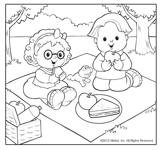 540x501 Little Coloring Pages! Sweet Summertime Themes For Kids