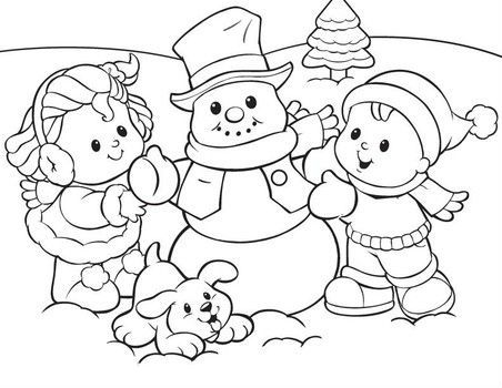 452x350 Fisher Price Little People Coloring Pages For Fisher Price