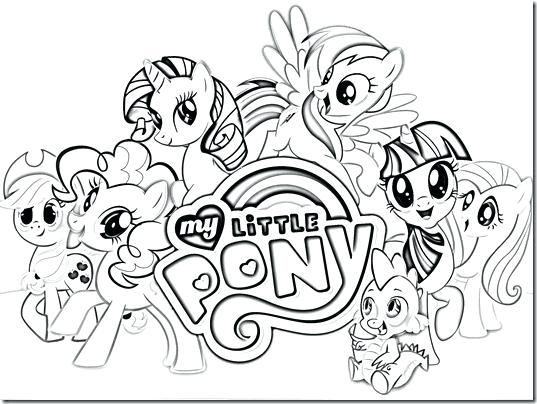 537x404 My Little Pony Coloring Pages Free My Little Pony Coloring Sheets