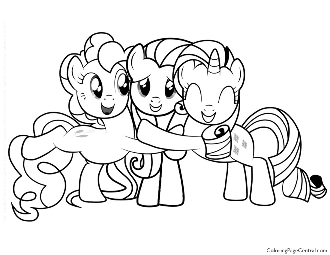 1100x850 My Little Pony Friendship Is Magic Coloring Page Coloring